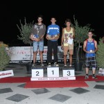 Premiazione categoria adulti, podio juniori U20M.