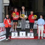 Premiazione categoria adulti, podio donne over 55.